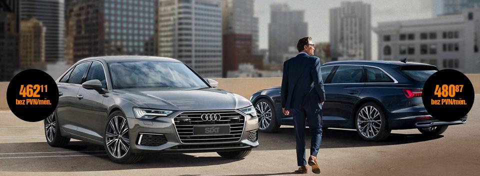 Audi A6 pilna servisa auto līzings   Sixt Leasing