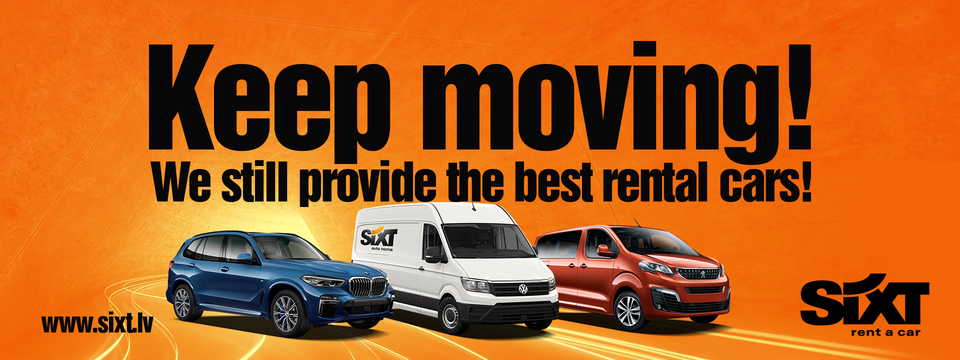 Car rental Riga | Sixt rent a car