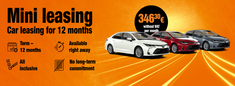 Car leasing for 12 months or longer | SIXT Leasing