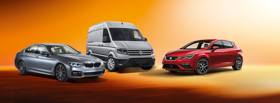All kind of cars for your company
