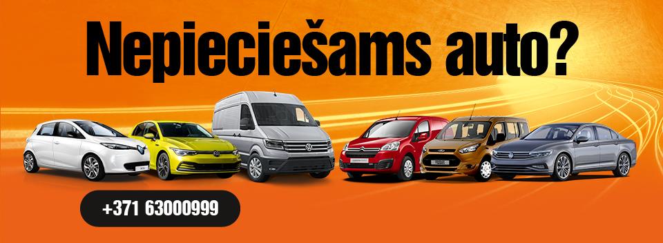 SIXT Leasing pilna servisa auto līzings uzņēmumiem