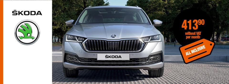Full service car leasing - ŠKODA Octavia Combi Ambition 1,5 TSI mHybrid