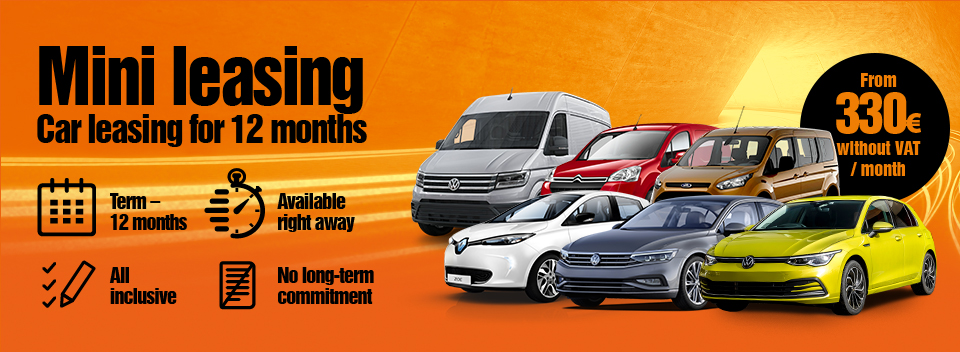 Car leasing for 12 months or longer. No long-term commitment! | Sixt Leasing