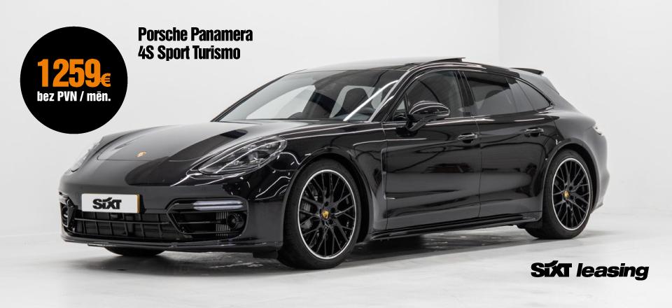 Porsche Panamera 4S Sport Turismo 440 Zs pilna servisa auto līzings no SIXT Leasing