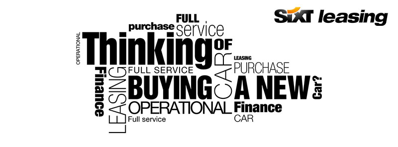 Car leasing. Financial leasing, operational leasing or full service car leasing - which one?