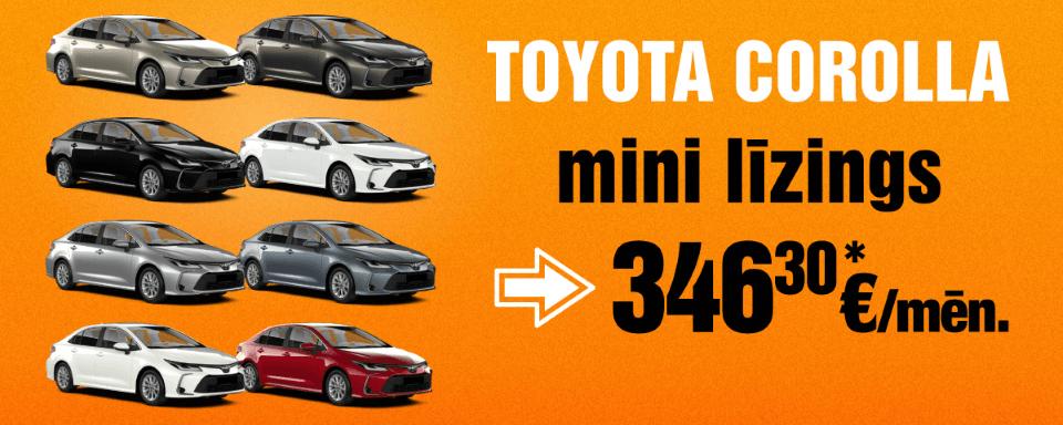 Auto līzings SIXT bez ilgtermiņa saistībām | Toyota Corolla