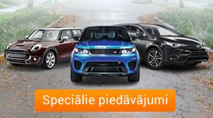 Jauni auto par izdevīgu cenu!