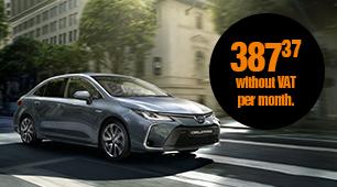Toyota Corolla Sedan 1,8 Hybrid e-CVT Active leasing