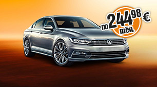 VW Passat auto līzings