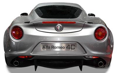 Alfa Romeo 4C Galleriefoto
