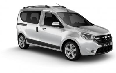 Dacia Dokker auto līzings | Sixt Leasing