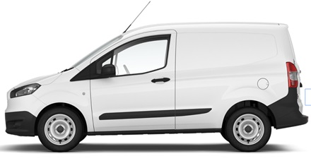 Ford Transit Courier VAN auto līzings | Sixt Leasing
