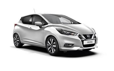Nissan Micra auto līzings | Sixt Leasing